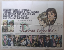 David Copperfield, Original UK Quad Poster, Attenborough, Moody, Olivier, '69